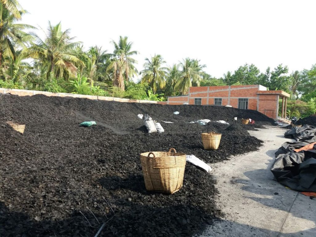 , coconut shell charcoal
