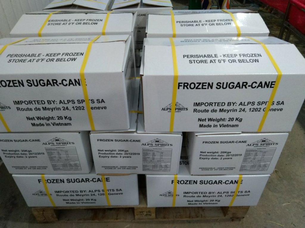 Frozen sugarcane San Jose, Los Angeles California